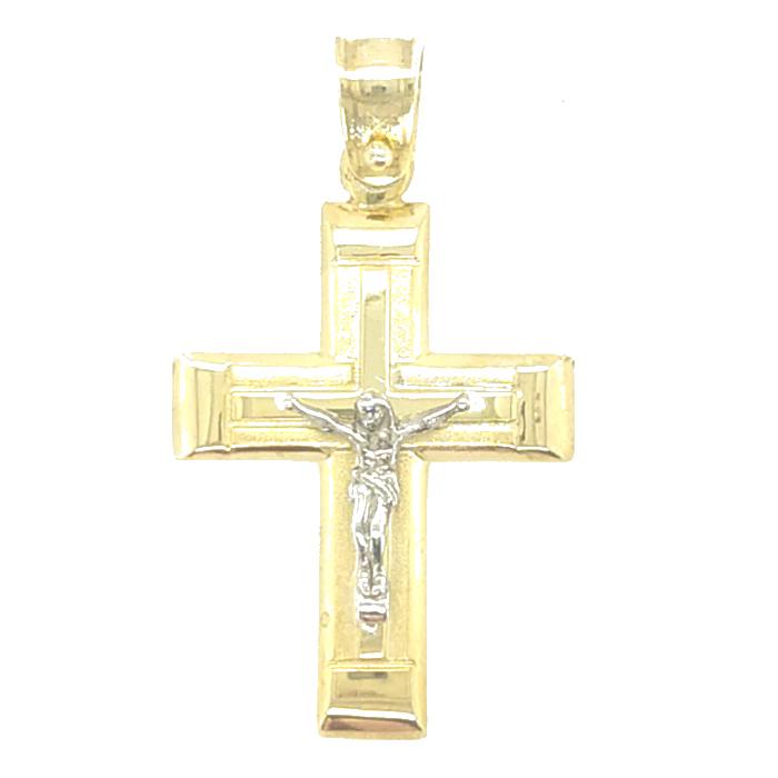 Ανδρικός Σταυρός Dio Ασημένιος Χειροποίητος