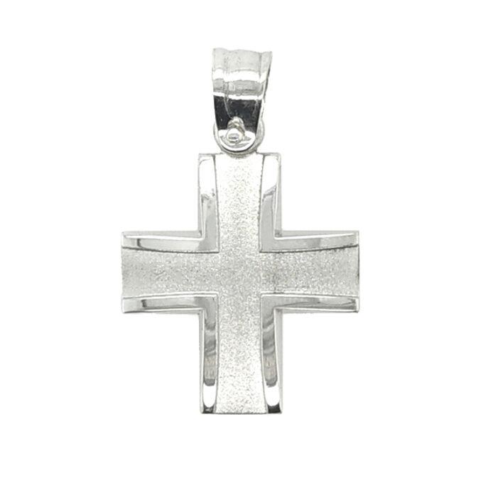 Σταυρός για αγόρι Dio από Ασήμι (925). Χειροποίητος.